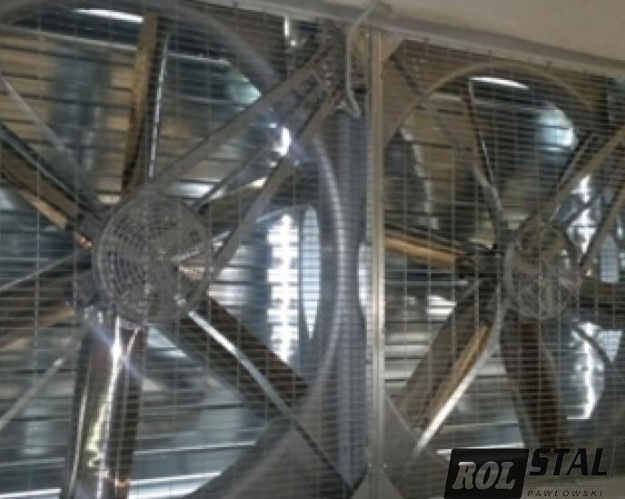 Wentylatory - mieszalniki powietrza